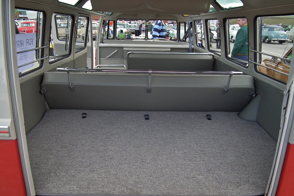 1960 Volkswagen T1 Transporter Deluxe 21 Window Bus Flickr