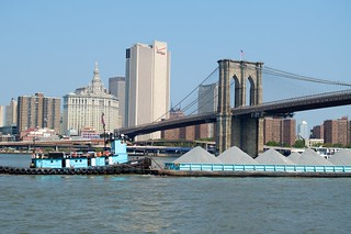 Barge in the East River | by Brad Clinesmith