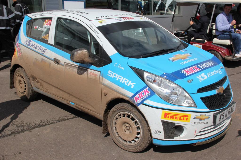 Chevrolet Spark Rally Car Drive Start Flickr