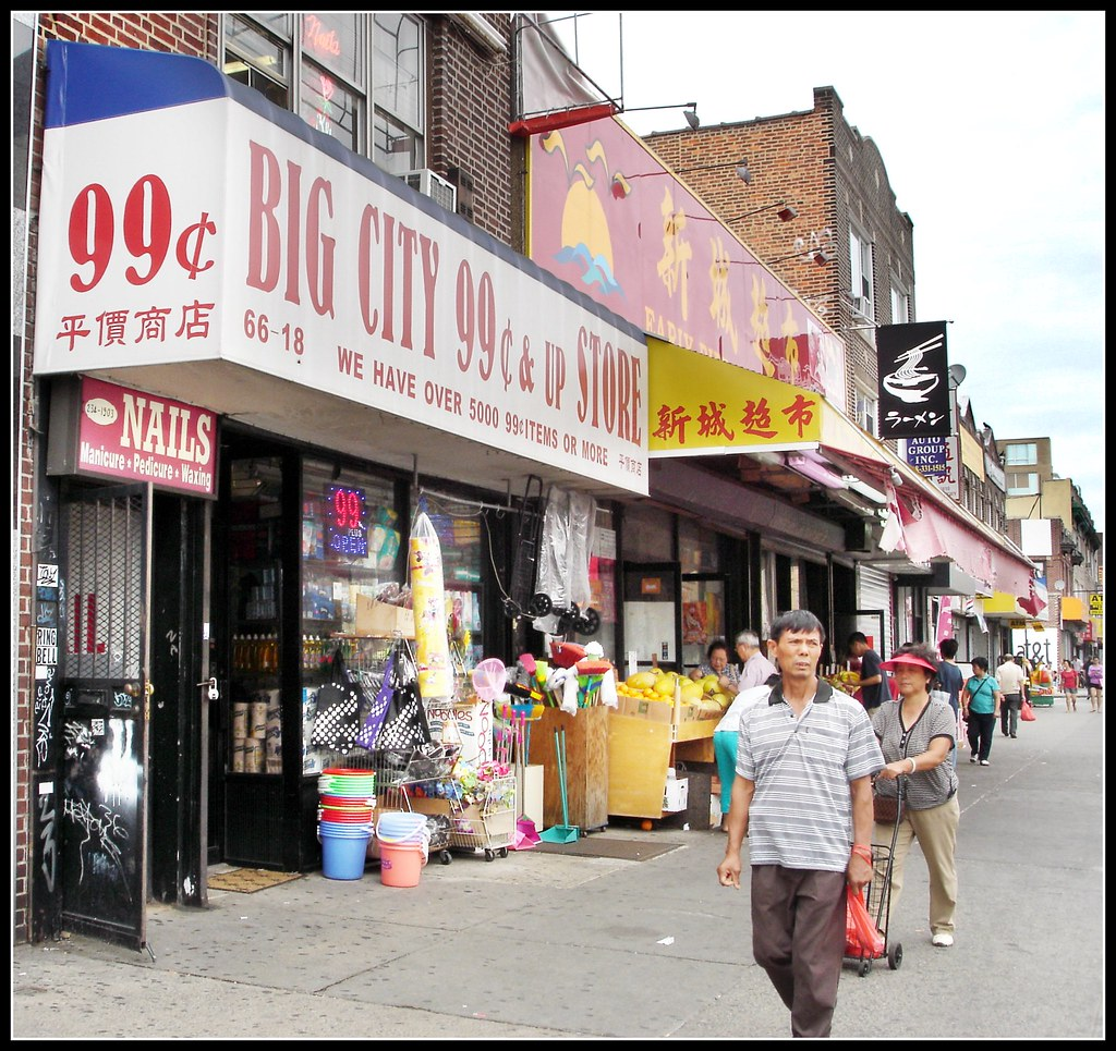Chinese Food Store On Flatbush Ave