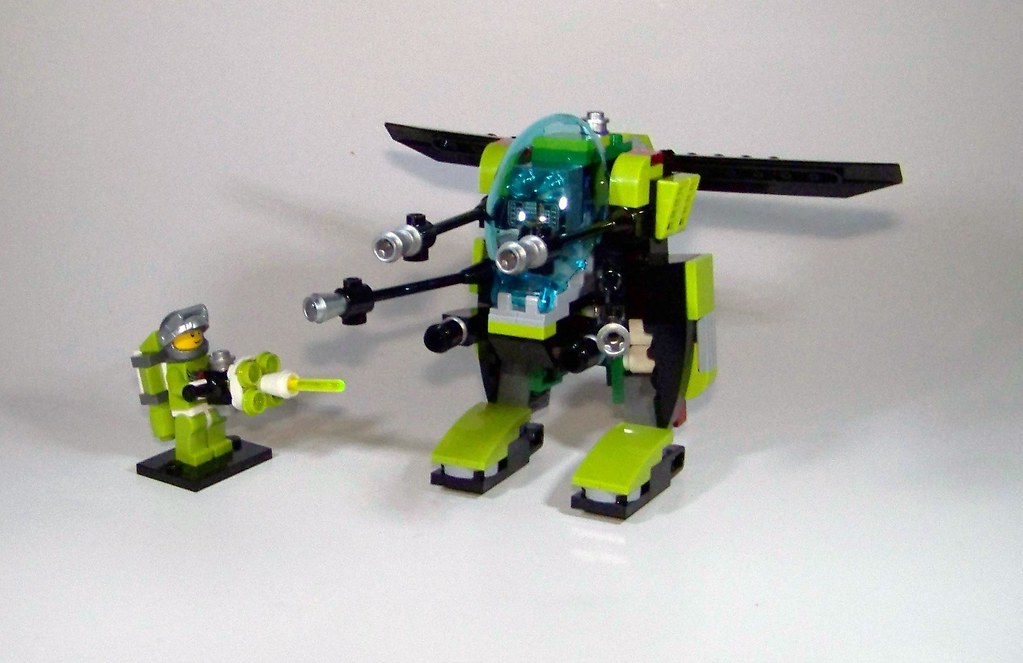 LEGO - MBA: Kit 3 - Defense Sentinel (MOC) | Sorry for the b… | Flickr