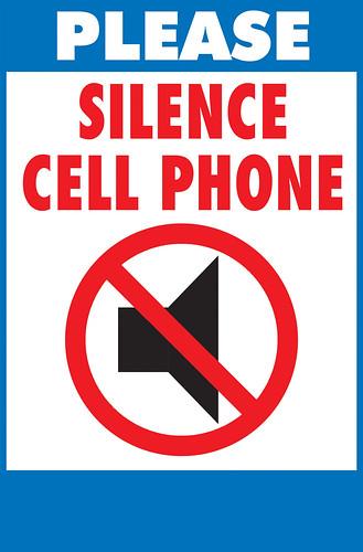 silence cell phone