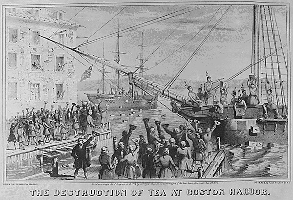 british perspective on the boston tea party essay The tools you need to write a quality essay or the boston tea party marked the first act of open resistance to british rule the boston tea party alone was.