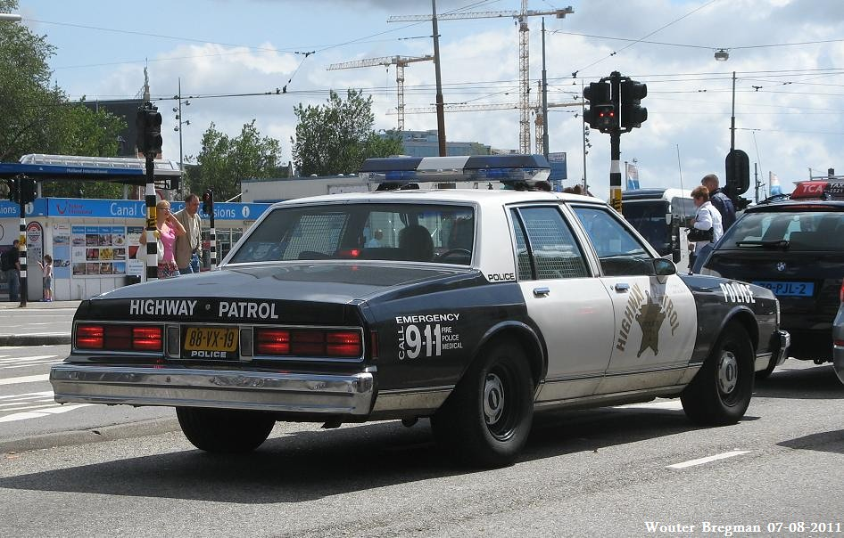 Chevrolet Caprice 1978 Police Car Wouter Bregman Flickr