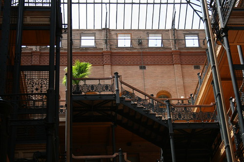 Bradbury Building (1893) | by Trader Chris