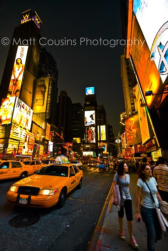 Times Square by night | by Matt Cousins Photography