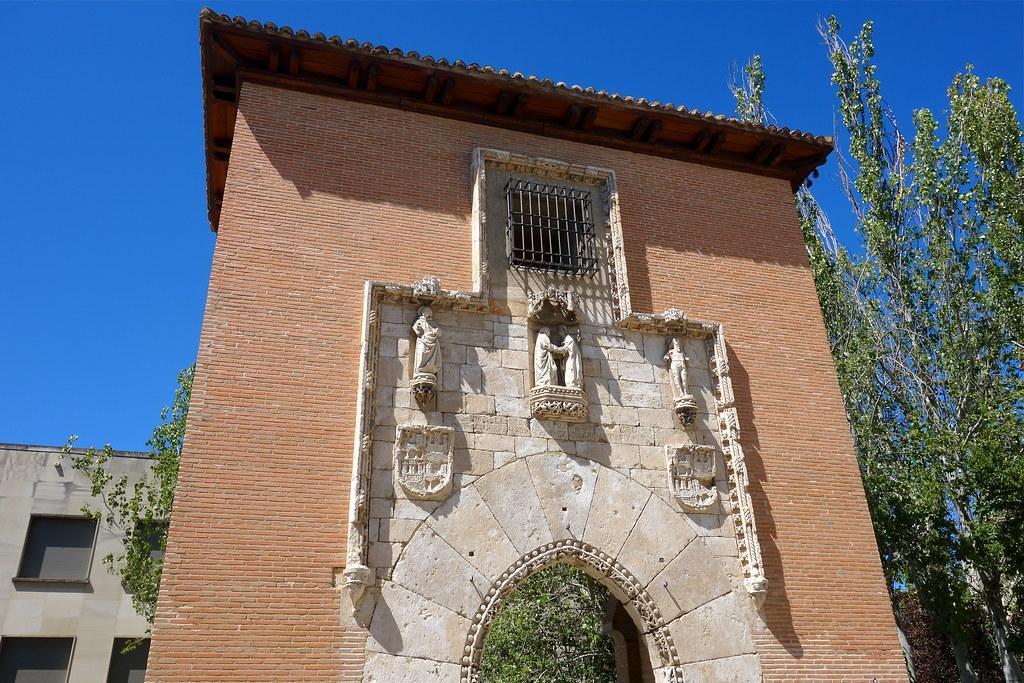 Puerta original del antiguo hospital de la latina escuela - Escuela arquitectura valladolid ...