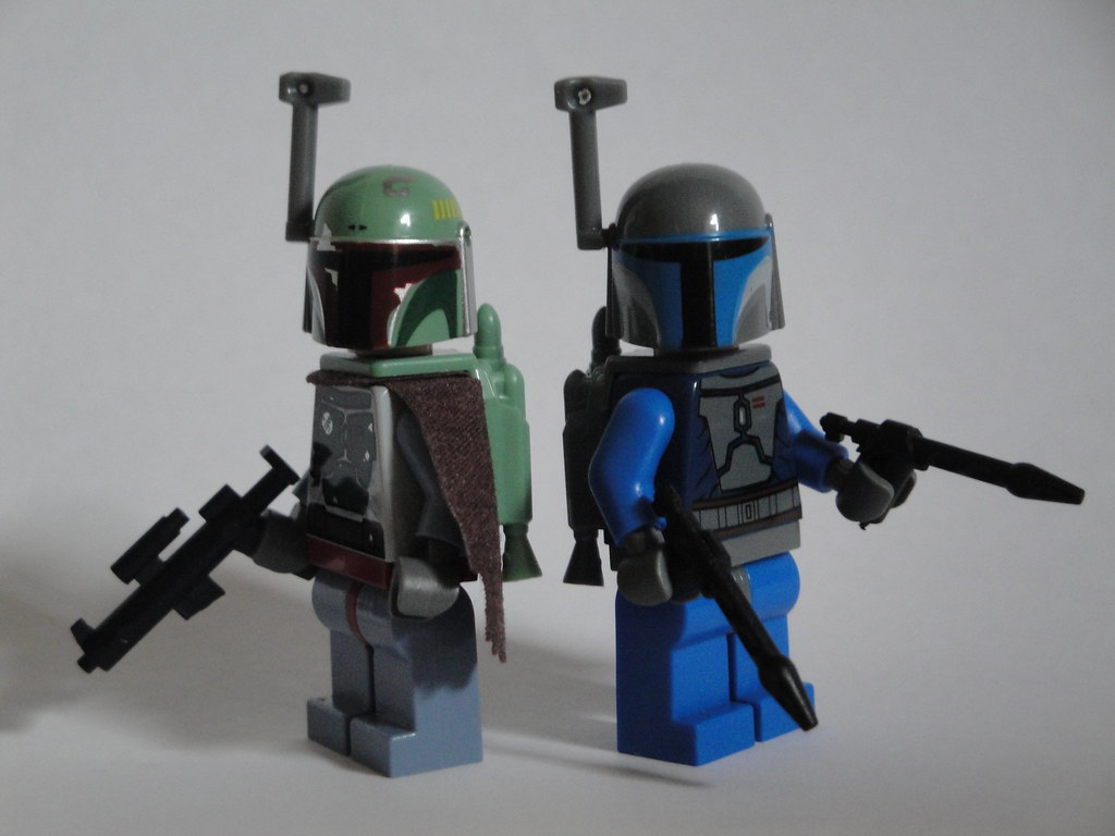 Lego Jango Fett And Boba Fett Boba Fett et Jango Fett