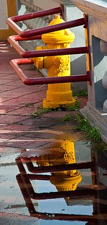 HIDRANTE Y REFLEJO (HYDRANT & REFLECTION) | by SamyColor