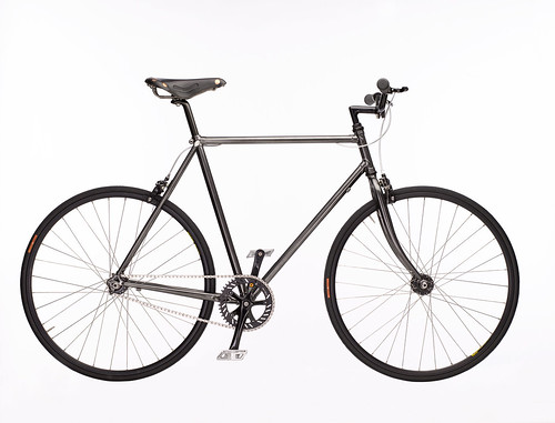 'Chrome Black' | by ColourBolt - Skinny Black Bikes