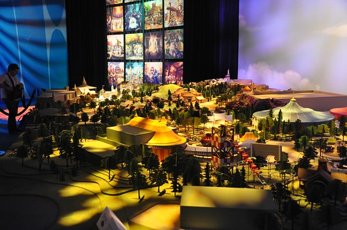 New Fantasyland model | by insidethemagic
