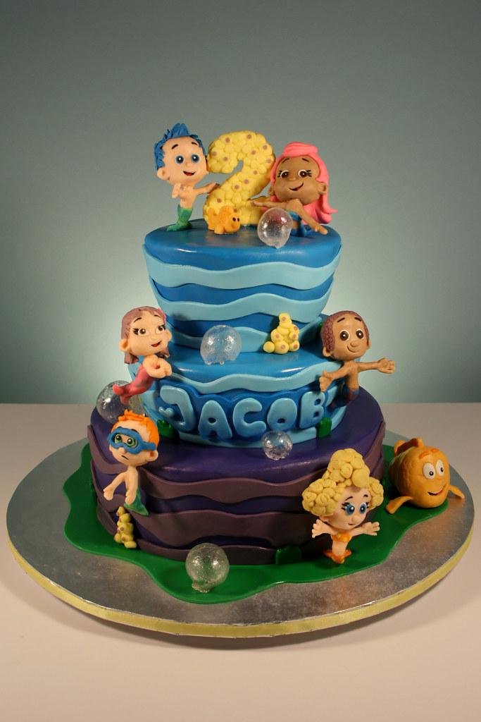 Sugar Free Fondant Cake
