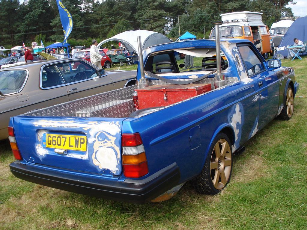 1989 Volvo 240 Glt Estate Now Pick Up Alan Gold Flickr