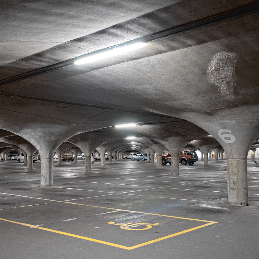 Skylights For Garage: Melbourne University Underground Southern Car Park