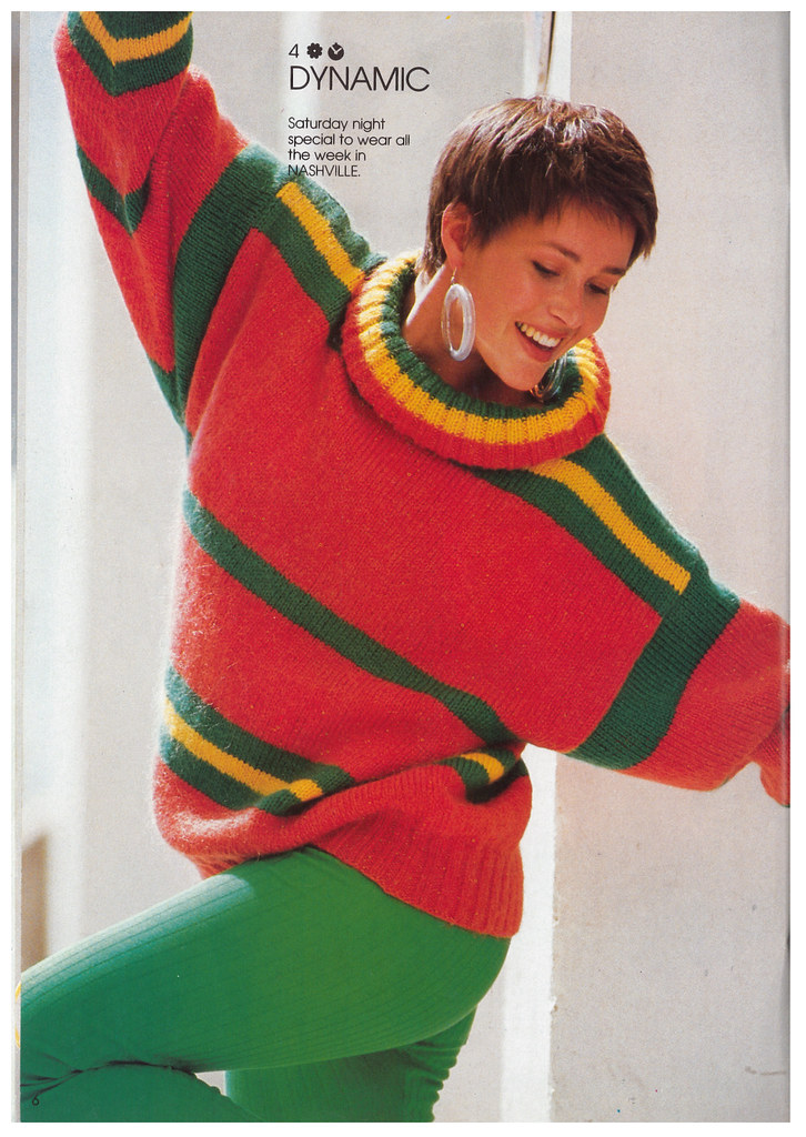 3 Suisses Magazine Knitting Patterns 1980s Tegwen Parry Flickr
