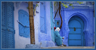 019. Blue Panorama, Chaouen, Morocco | by Charlottine'sPics - ingridstainier.com