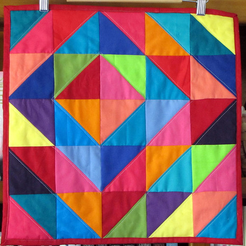 FLOSS Mini Quilt | by kirsten67