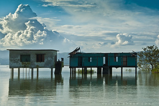 "Rest house at the waterland ""Tanguar Haor"" 