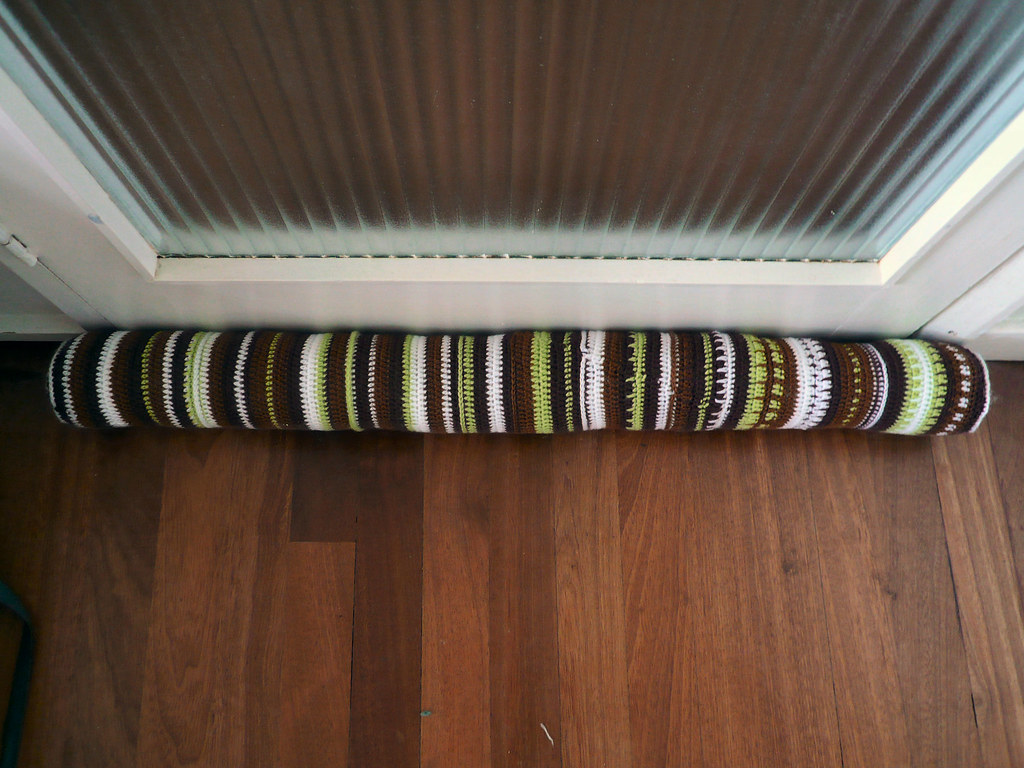 Crochet Draught Excluder Pearlyqueen Flickr