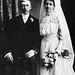 Fred and Amanda (Prescott) Tiedt's Wedding Photo, 1905