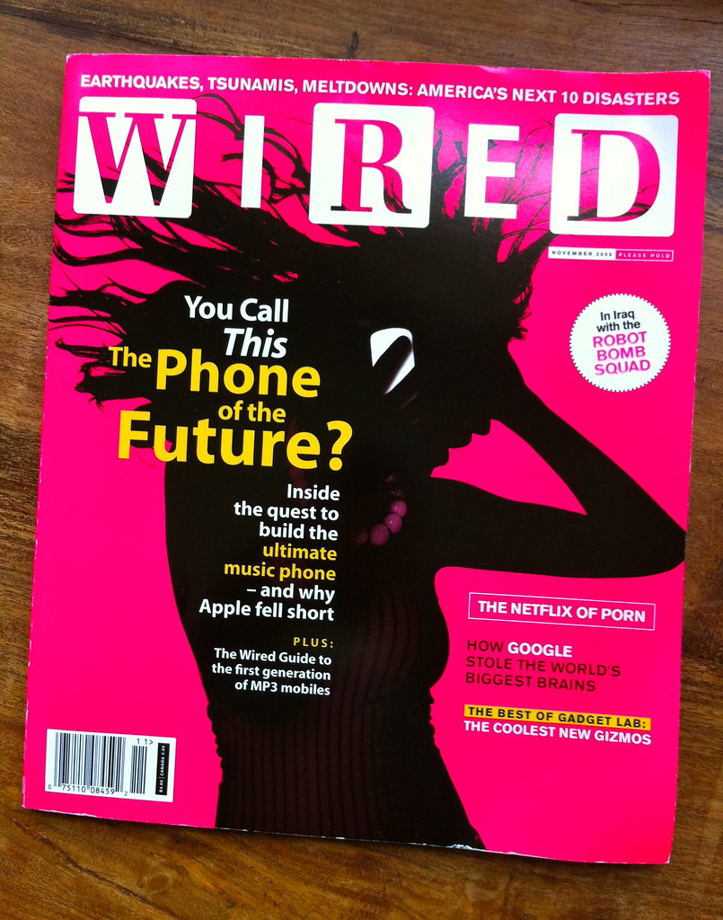 WIRED: Apple Falls Short | November 2005 WIRED magazine. | Flickr