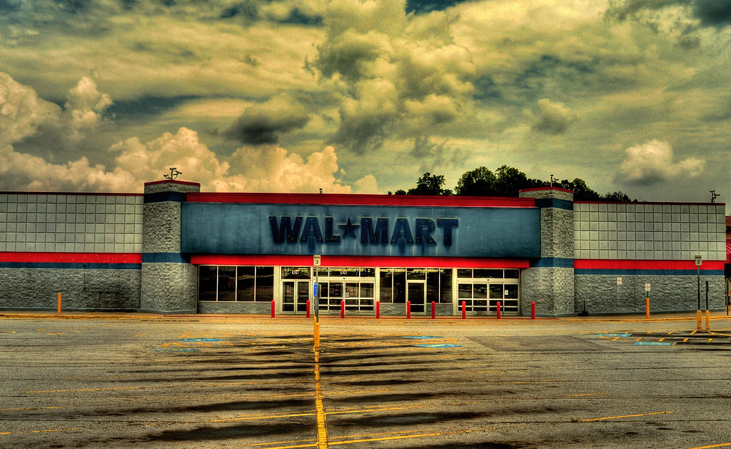 Abandoned Walmart Hdr Don T See This Every Day Flickr