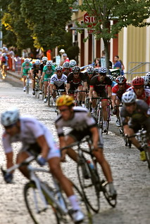 Racing over cobbles | by mathowie