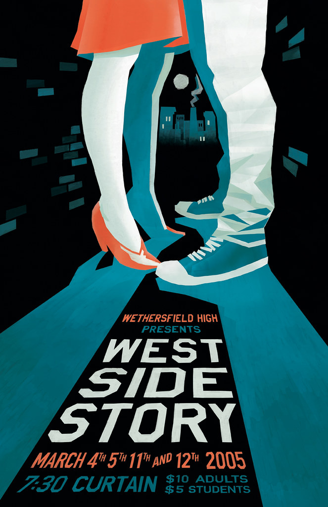 West Side Story - Revised Poster | My first graphic design ...