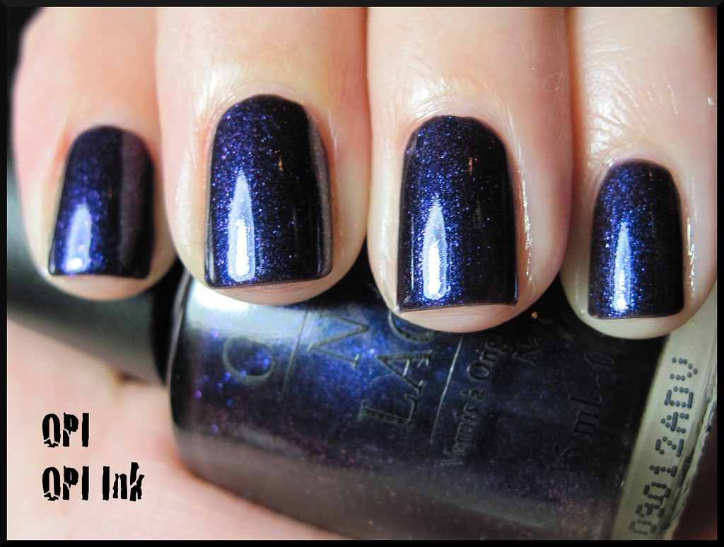 OPI OPI Ink | Two coats with SV, under an OTT lamp