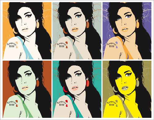 Amy Winehouse | by Tangerine designs