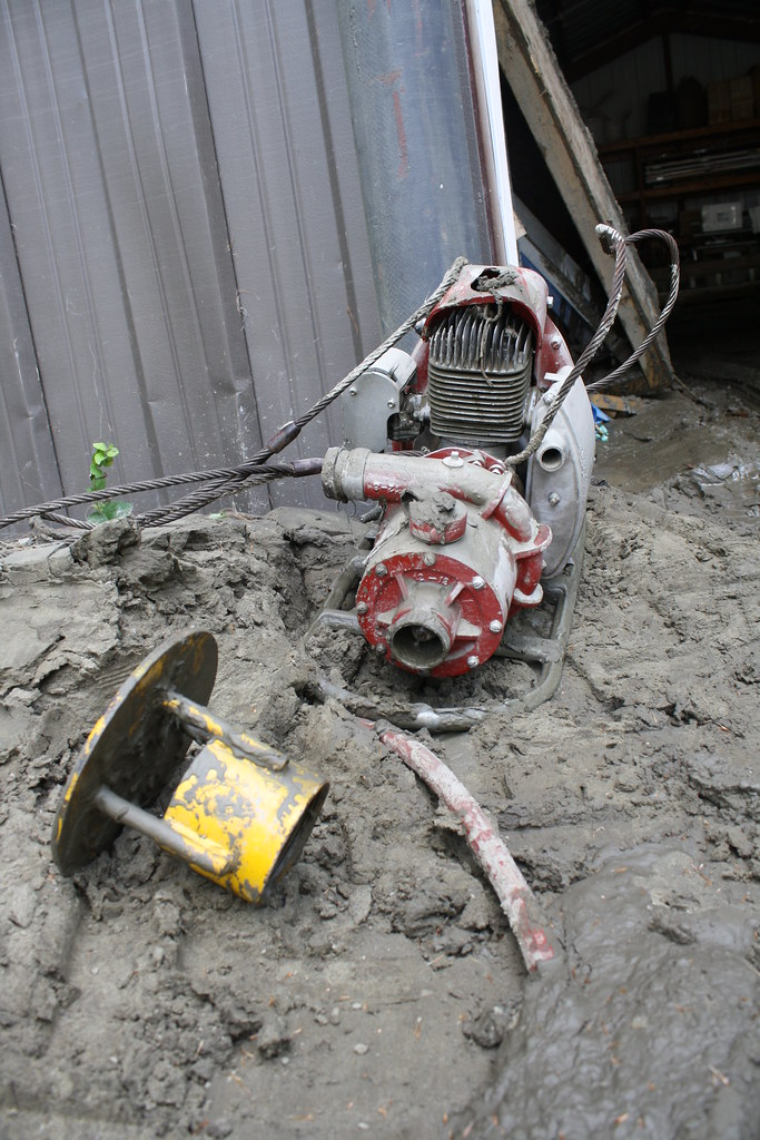 Equipment and facilities were damaged | Equipment and ... Fish