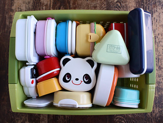 Bento box storage | by Wendy Copley