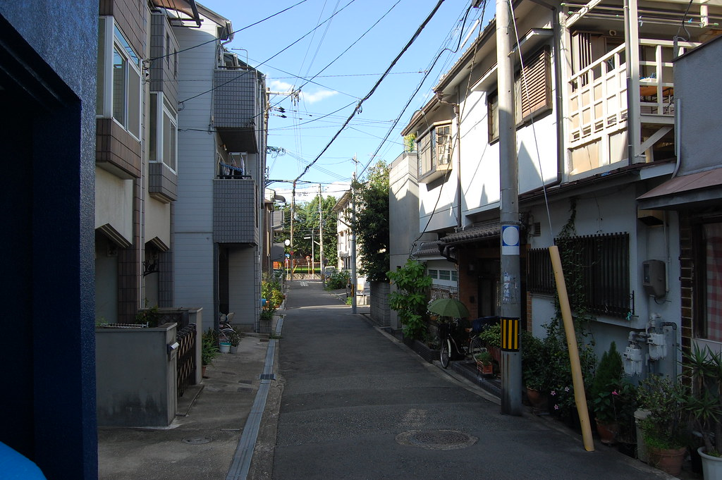 Row House in Sumiyoshi / Tadao Ando [住吉の長屋/安藤忠雄] | Row ...