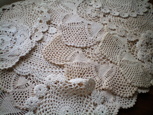 Thrifted Doilies | by juliezryan