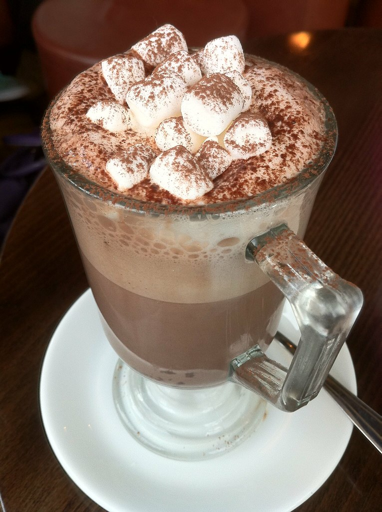 Hot Chocolate with Marshmallows at Electric on South Mall ...