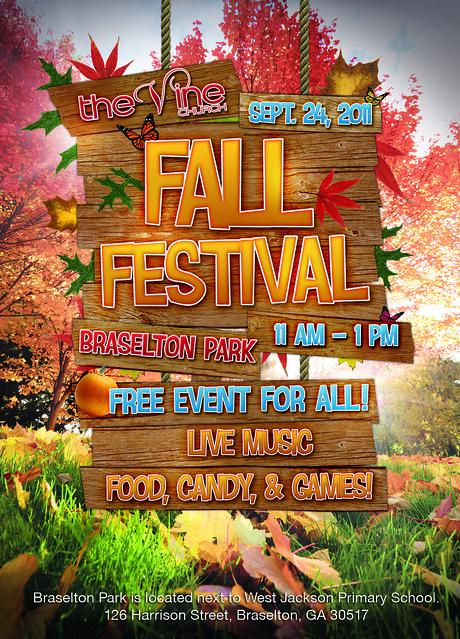 fall festival invite graphic