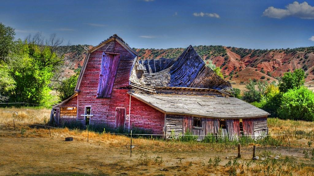 Old Barn Near Quot Ten Sleep Quot Wyoming Ten Sleep Was An