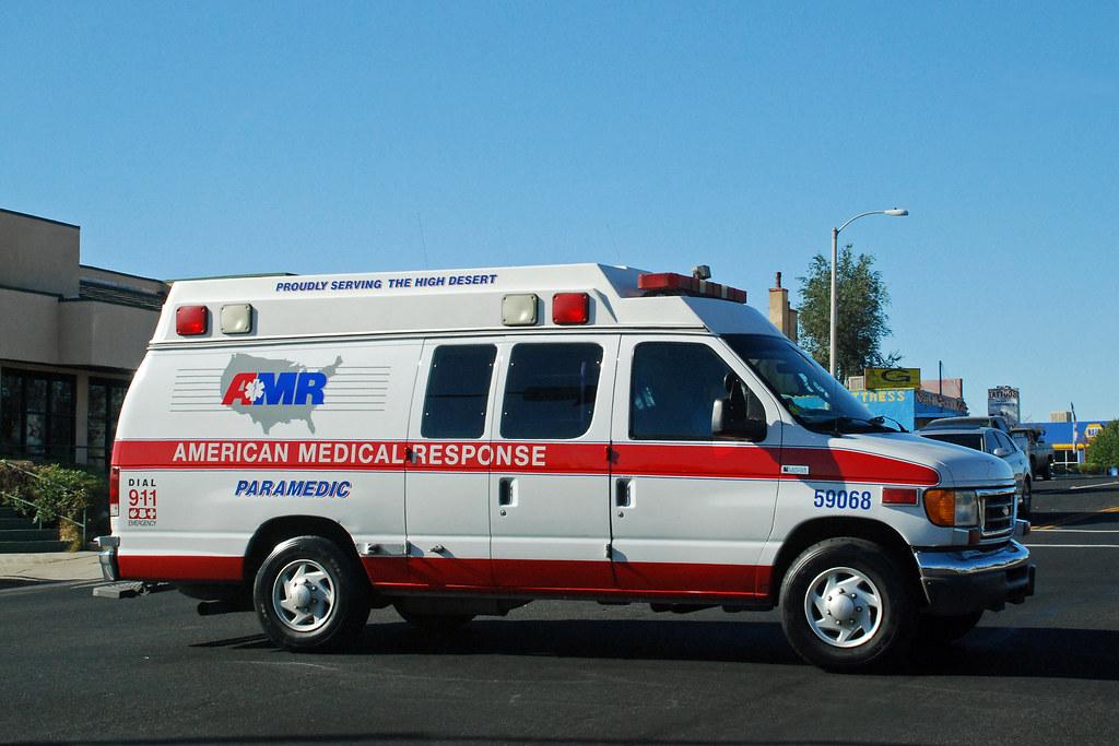 Amr Ambulance Ford Econoline In Victorville Calif So