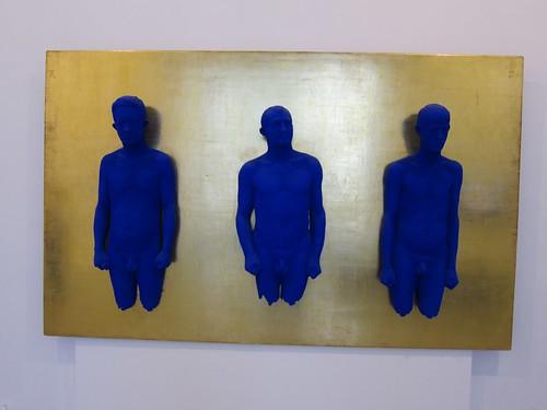 Yves klein mus e d 39 art moderne et d 39 art contemporain nic for Art contemporain moderne
