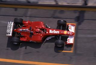 Michael Schumacher, Imola 2003