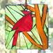 The Cardinal Suncatcher