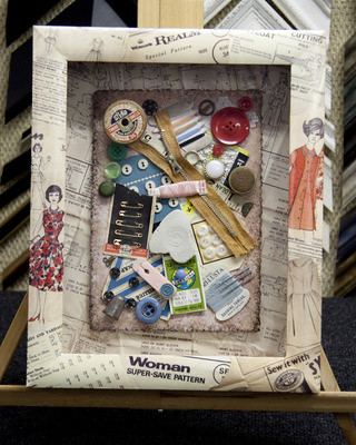 Sewing Memory Box | by bespokeframing