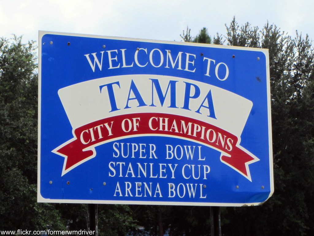 Welcome To Tampa Sign If You Want To Use This Image Ask