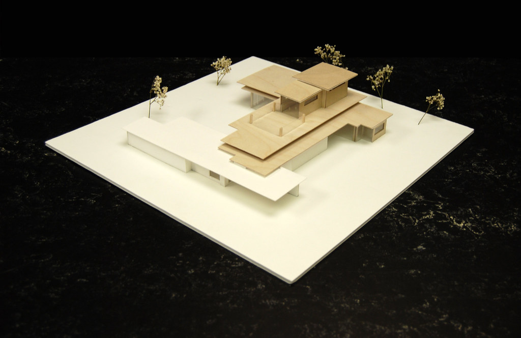 Final Model By Jose Torricos Of Addition To Jacobs House