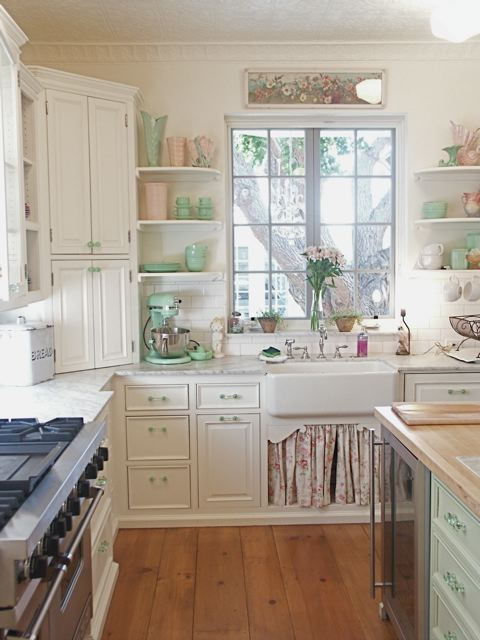 Kitchen Envy Love The Farmhouse Sink Amp Jadite Green Touc