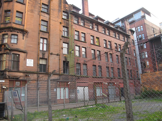 Derelict And Condemned Buildings In Glasgow  Flickr -8680
