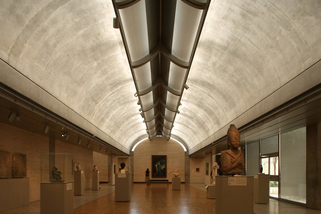 Louis Kahn Kimbell Art Musuem Fort Worth Completed 1972