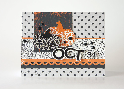 Oct 31 Card | by Echo Park Paper Project Gallery