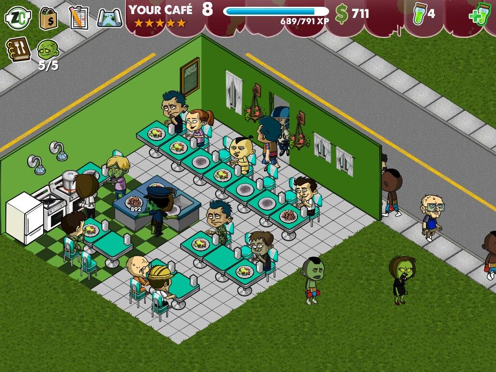 Zombie Cafe Best Layout