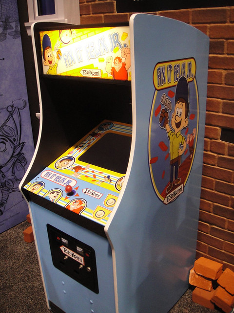 Fix It Felix Jr Arcade Machine D23 Expo 2011 - Fix-It...
